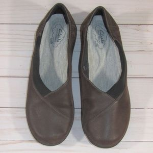 Clarks Cloudsteppers Sillian Jetay Brown Loafers